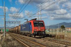 E474 201 DB CARGO ITALIA - PISA (Giovanni Grasso 71) Tags: e474 201 db cargo italia pisa cintura collo doca siemens nikon e189 vf giovanni grasso d610 venezia marghera scalo scarlino rho locomotiva elettrica