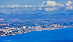 Rijeka s vidikovca iznad Veprinca na Učki (MountMan Photo) Tags: rijeka primorskogoranska croatia panorama landscape grad city more sea oblaci clouds