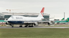 G-CIVB Boeing 747-400 British Airways Negus Retro Livery EIDW 21-3-19 (1 of 1) (Conor O'Flaherty) Tags: gcivb boeing 747 british negus retro airways 744 747400