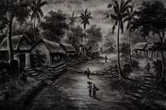 bali artwork (Greg M Rohan) Tags: indonesia bali artwork artist art asia blackwhite blackandwhite bw monochrome d750 2018 nikon nikkor