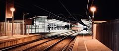 Estació de Rodalies 6 (Xevi V) Tags: night rodalies cabrera tren train railroad railroads railroadtrack elmaresme renfe estació trens isiplou nit llocsambencant estacióderodalies bytrain