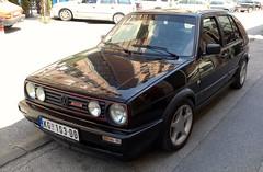 1991 Volkswagen Golf II GTI 1.8 16V (FromKG) Tags: vw volkswagen golf ii 18 16v black car kragujevac serbia 2017