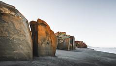 Cliffs and Sand Stones (Bobby Vilas) Tags: sandstone beach coast coastal cliffs landscape