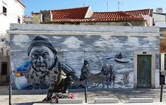 Sesimbra (hans pohl) Tags: portugal sesimbra setubal peintures paintings streetart rues streets architecture