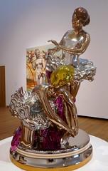 Jeff Koons, Ballerinas (jacquemart) Tags: jeffkoons ballerinas sculpture steel polishedsteel ashmoleanmuseum oxford