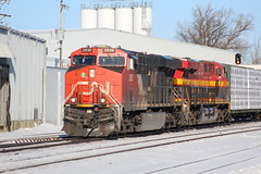 Morning Freight (recekasten) Tags: eje cn csx wisconsin kcs railroad wc neenah