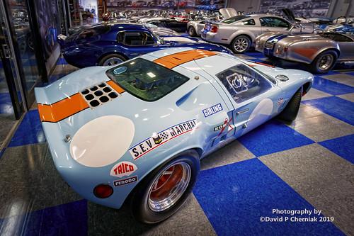 Superformance GT40 MKI Gulf Colors 3-4 RR high (7866) Irvine