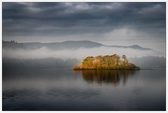 The Island (Nicks-2017) Tags: green keswick england united kingdom gb outdoors outside nature national park trust cumbria the lakes lake district canon eos mountain mist sky sea water snow landscape bay serene 6dmkii island trees explore sundaylights