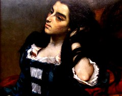 'Spanish Woman' (thomasgorman1) Tags: oil canvas painting art artwork philadelphia museum canon woman spanish courbet
