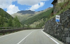 SS27 Colle del Gran San Bernardo-1 (European Roads) Tags: ss27 colle del gran san bernardo italia suisse switzerland grand saintbernard strada statale