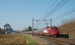 Thalys PBA 4539 en UM (SylvainBouard) Tags: train railway thalys pba