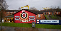 The Loyalist Murals in Belfast Northern Ireland (kevinfoxphotography53) Tags: mural ulster belfast troubles