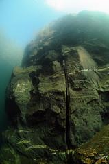 NorthWales-VivianQuarry-201802-25 (Tony J Gilbert) Tags: snowdonia llanberis northwales viviandivecentre vivianquarry mountsnowdon diving aquatic freshwater quarry floodedquarry nikon d300