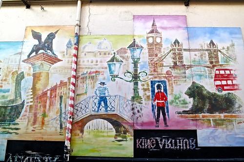 Mural - Zakkendragerssteeg Utrecht