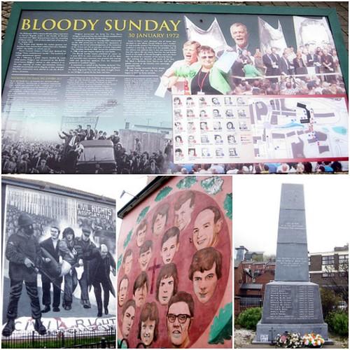 Derry, Northern Ireland: 'Bloody Sunday'