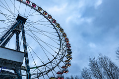 Ferris wheel (42recorder) Tags: ferris wheel sky trees