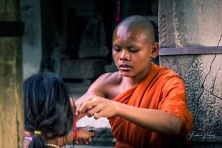 Moine a Angkor