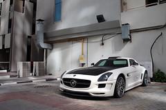 Mercedes-Benz Hamann Hawk SLS AMG (Instagram: R_Simmerman) Tags: mercedes benz amg mercedesbenz hamann hawk sls united arab emirates abu dhabi mall valet parking garage hotel combo burj khalifa jbr marina walk boulevard supercars sportcars hypercars dubaicars carsofdubai qatar saudi uae kuwait main entrance city dubai