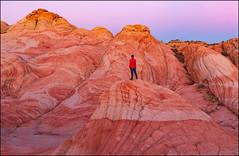 Yant Flat (jeanny mueller) Tags: usa southwest utah stgeorge yantflat candyland rock mountains landscape sunset mars
