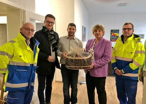 Weihnachtsvisite von Präsidentin Diezel und Vizepräsidentin Jung bei Polizei und Feuerwehr in Gera