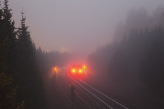 _MG_3339 (Jasper Kaarna) Tags: vuosaari rastila metro sumu fog autumn lokakuu syksy
