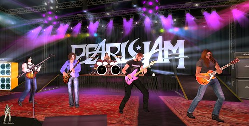 Pearl Jam Live @ The Jungle Rock Jan 8 2019 for TRC in Second life