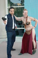 SDCC 2018 - 1596 (Photography by J Krolak) Tags: costume cosplay masquerade comicconvention sdcc2018 leia princessleia slaveleia leiasmetalbikini