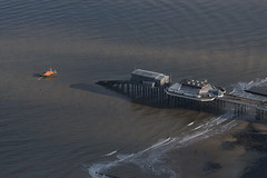 Cromer Lifeboat off Cromer Pier - Norfolk aerial image (John D Fielding) Tags: cromer pier lifeboat norfolk above aerial nikon d810 hires highresolution hirez highdefinition hidef britainfromtheair britainfromabove skyview aerialimage aerialphotography aerialimagesuk aerialview drone viewfromplane aerialengland britain johnfieldingaerialimages fullformat johnfieldingaerialimage johnfielding fromtheair fromthesky flyingover fullframe