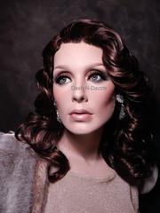 Ingrid (dashndazzle) Tags: dashndazzle mannequin makeup glass eyes ingrid greneker
