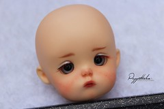 Ming (Puppet Tales Dolls) Tags: ooak ooakdoll doll repaint dollrepaint custom customization bjd balljointeddoll art draw faceup makeup ming secretdoll