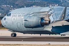 UAE Air Force C17a Globemaster III 1225 (José M. Deza) Tags: 1225 20190126 bcn boeing c17a elprat globemaster globemasteriii lebl planespotting spotter uaeairforce aircraft