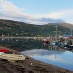 Le port et la grève, Ullapool, Ross and Cromarty, Ecosse, Grande-Bretagne, Royaume-Uni. thumbnail