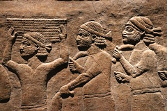 Detail of previous image (calmeilles) Tags: london england unitedkingdom ashurbanipal britishmuseum assyria ancienthistory archaeology middleeast nineveh