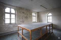 Meeting room (AnotherStepAway) Tags: urbex urban exploration urbanexploration ue abandoned forgotten religion decay dust dark darkness adventure adventurer exploring explorer photography
