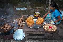 Peanut Candy Shop (shapeshift) Tags: 3rdworld asia burma candy davidpham davidphamsf documentary firewood frying kitchen myanmar peanuts people shapeshift shop sittwe southeastasia steaming street streetfood streetphotography thirdworld travel vendors woman rakhine myanmarburma mm