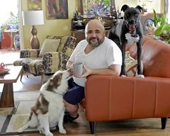 DSCN2867 (danimaniacs) Tags: dog furry man guy beard scruff animal pet