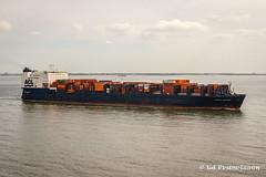 Atlantic Companion (Ed Francissen) Tags: imo8214152 edfrancissen westerschelde acl vlissingen northsea containership