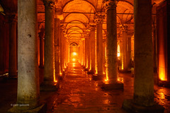 Basilica Cistern (pietkagab) Tags: basilica cistern istanbul turkey city underground columns column monument dark turkish byzantine byzantium constantin constantinople ancient history interior indoor water wet pietkagab photography piotrgaborek sonya7 travel trip tourism adventure sightseeing
