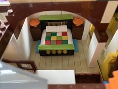 Tuesday's feeling... 😴😴 (markfaving) Tags: legomoc lego ideas bedroom tuesday pixar disney house up