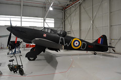 N1671 Boulton Paul Defiant, Cosford 8/2/19 (David K- IOM Pics) Tags: royalairforce royal air force raf cosford museum n1671 boulton paul defiant
