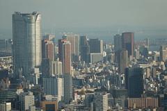 Views of Roppongi from Metropolitan Government Building, Shinjuku Tokyo, Japan