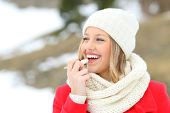The 5 Best Lip Treatments For Dry, Peeling Lips (alsfakia) Tags: wisdom by alexandros g sfakianakis anapafseos 5 agios nikolaos 72100 crete greece 00302841026182 00306932607174 alsfakiagmailcom lip balm lipbalm lips protection winter cold care health hydrating hydration lipcare skin woman girl product female lady cosmetics apply applying smiling happy person healthy people snow mountain beauty beautiful hand holding using lipstick makeup treatment soft make up cream painting young adult healthcare skincare protector outdoor outside dry teen spain