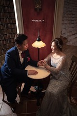 _MGL1807-55精選logo (Cherie Amour Photography) Tags: angel beauty bride goddess wedding portrait art fineart lady girl gown couple