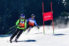 La Molina 2019 - World Para Alpine Skiing World Cup - Day 2 (Paralympic) Tags: kubackamarek guidezatovicovamaria b1 svk wpas2019alpineskiingworldcup lamolina spain alpineskiing parasport giantslalom