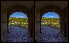Blankenburg castle gate 3-D / CrossView / Stereoscopy / HDRi (Stereotron) Tags: sachsenanhalt saxonyanhalt ostfalen harz mountains gebirge ostfalia hardt hart hercynia harzgau deutschland germany europe blankenburg burg schlos castle gateway tor bogen cross eye view xview crosseye pair free sidebyside sbs kreuzblick bildpaar 3d photo image stereo spatial stereophoto stereophotography stereoscopic stereoscopy stereotron threedimensional stereoview stereophotomaker photography picture raumbild twin canon eos 550d remote control synchron kitlens 1855mm 100v10f tonemapping hdr hdri raw antiquated ancient medieval