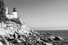 Bass Harbor Head Lighthouse (Donald Hite) Tags: lighthouse lighthouses outdoor beacons fog ocean