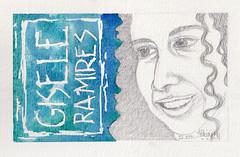 Gisele Ramires (tpv2009) Tags: art portrait dessin tpv jkpp