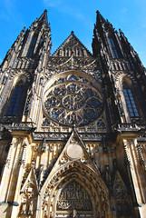 St. Vitus Cathedral (Anselmo Portes) Tags: praga prague czechrepublic repúblicatcheca europe centraleurope stvituscathedral cathedral architeture catedral arquitetura
