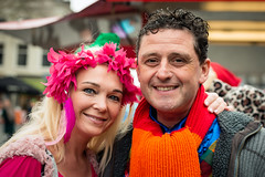 Dutch carnival 2019 (RuudMorijn-NL) Tags: 2019 breda adult annual beautiful beauty blonde brown carnaval carnival closeup colorful costume couple cute decoration dutch event eyecontact eyes face female fun funny glamour green hair happy long love male man netherlands northbrabant orange party pink portrait pretty smiling stranger street streetportrait style together two woman vrouw twee samen lol plezier pret pose portret duo grotemarkt binnenstad straat straatportret kielegat noordbrabant kleurig kleurrijk oranje sjaal roze