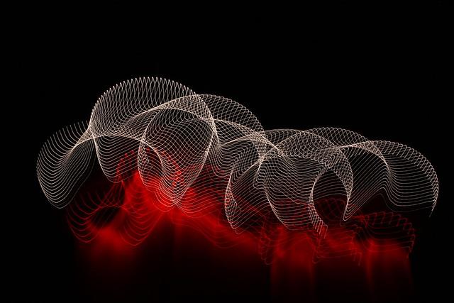 Обои абстракция, линии, пятна, темный фон картинки на рабочий стол, фото скачать бесплатно